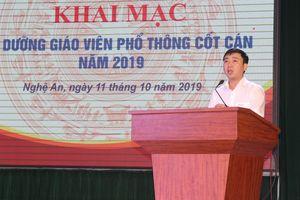 Trường ĐH Vinh bồi dưỡng hơn 600 giáo viên tiểu học cốt cán 2 tỉnh Nghệ An, Hà Tĩnh