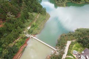 Tháo dỡ và di dời hàng loạt công trình xây dựng trái phép tại hồ Tuyền Lâm