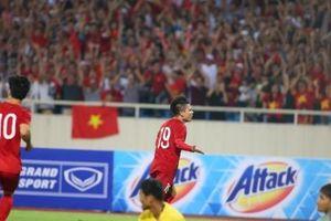 Ghi bàn đẳng cấp, Quang Hải giúp đội tuyển Việt Nam đánh bại đội tuyển Malaysia