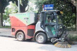 Xe hút rác không thể thay xe rửa đường