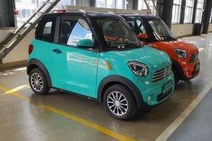 Ô tô điện mini Thái Lan 75 triệu đồng gây sốt cộng đồng mạng chưa được phép lăn bánh trên đường