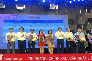 Hà Tĩnh đạt 10 giải tại Cuộc thi 'Tìm hiểu 90 năm lịch sử vẻ vang của Đảng Cộng sản Việt Nam' khu vực phía Bắc