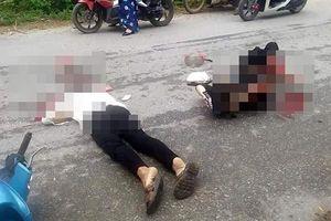 Hai vợ chồng gặp tai nạn thương tâm sau khi tông phải chó chạy rông