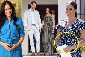 Nguồn tin thân cận hoàng gia tiết lộ: Meghan Markle đang mang thai đứa con thứ hai khiến Hoàng tử Harry bật khóc và chuẩn bị rời khỏi nước Anh