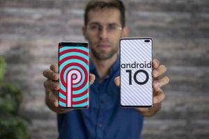 Đã có Android 10 beta cho Galaxy S10+
