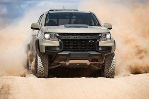 Chevrolet Colorado 2021 lộ diện, thách thức Ford Ranger