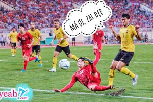 Khoảnh khắc cầu thủ Malaysia 'hoảng sợ' trước pha đi bóng của Quang Hải trở thành cảm hứng 'chế ảnh' của cư dân mạng