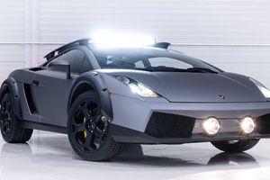 Cận cảnh Lamborghini Gallardo với gói độ off-road độc đáo
