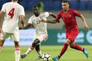 Thua đậm UAE, Indonesia tan tành nhuệ khí trước trận gặp Việt Nam