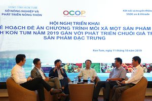 Triển khai kế hoạch đề án mỗi xã một sản phẩm ở Kon Tum