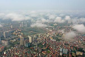 Không khí Hà Nội và TP.HCM trong lành sáng cuối tuần