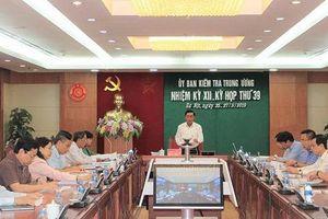 Ủy ban Kiểm tra Trung ương có 4 tân ủy viên