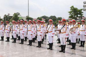 Đội Nhạc lễ Công an nhân dân sẽ trình diễn âm nhạc tại phố đi bộ hồ Hoàn Kiếm