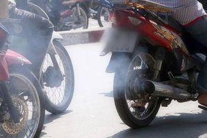 Đề xuất đăng kiểm xe máy ở Hà Nội để giảm ô nhiễm không khí