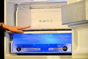 Công nghệ tinh thể bạc BlueAg giúp diệt khuẩn 99% trong tủ lạnh, máy giặt