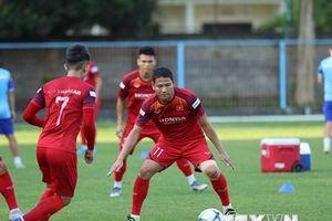 Hình ảnh đội tuyển Việt Nam tập luyện buổi đầu tiên ở Bali