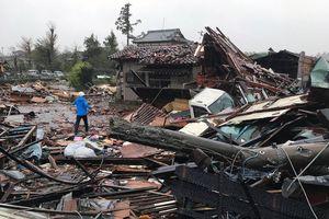 Sức tàn phá của siêu bão Hagibis mạnh kỷ lục tại Nhật Bản