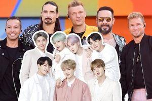 Ban nhạc huyền thoại Backstreet Boys hết lời ngợi khen BTS ngay trên sóng phát thanh trực tiếp