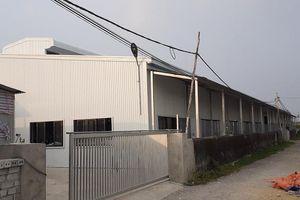 Nghệ An: Nhà máy giày da hoạt động trái phép gây ô nhiễm