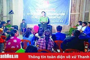 Đẩy mạnh công tác phổ biến, giáo dục pháp luật cho đồng bào vùng dân tộc thiểu số và miền núi