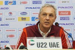 Trưởng đoàn U22 UAE: 'U22 Việt Nam là một đội bóng mạnh trong khu vực và giàu kinh nghiệm'