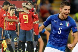TRỰC TIẾP vòng loại Euro 2020: Tây Ban Nha và Italia dễ thở