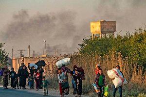 Cảnh loạn lạc và tang thương trong chiến dịch 'Mùa xuân Hòa bình' của Thổ Nhĩ Kỳ ở Syria