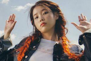 IU liên tục thay đổi màu tóc chỉ để phù hợp với bài hát