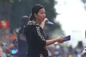 Phe vé trận U22 Việt Nam gây rối trước giờ thi đấu