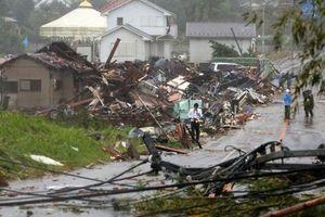 Bão Hagibis càn quét Bắc Nhật Bản sau khi làm 'tê liệt' Tokyo
