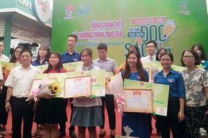 Chung kết Cuộc thi tìm kiếm ý tưởng 'Xây dựng thói quen đọc sách trong giới trẻ'