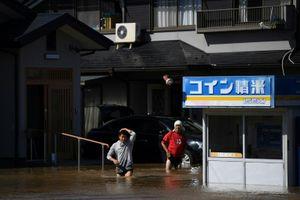 Siêu bão Hagibis Nhật Bản: 14 người chết, công tác giải cứu đang được tiến hành