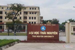Giám đốc ĐH Thái Nguyên bác tin tố phó hiệu trưởng gian lận