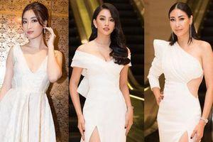 Dàn Hoa hậu, Á hậu đọ sắc bất phân thắng bại tại sự kiện: Tiểu Vy o ép vòng 1 căng đầy, Hà Kiều Anh khoe vẻ đẹp trẻ trung ở tuổi 43