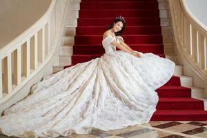 Hé lộ 'hôn lễ trong mơ', Hoàng Oanh khiến người xem không thể rời mắt trong bộ ảnh cưới đặc biệt