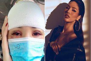 Người mẫu Khả Trang bị tai nạn, tụ máu đầu giờ ra sao?