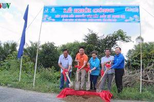 Khởi công cây cầu mang tên Anh hùng phi công Nguyễn Văn Bảy
