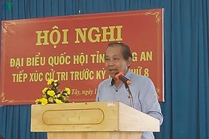 Phó Thủ tướng Trương Hòa Bình: Chống tham nhũng 'không có vùng cấm'