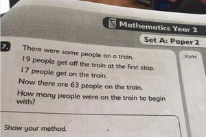 Bài toán lớp 2 khiến dân mạng tranh cãi suốt 3 năm vì đề bài oái oăm