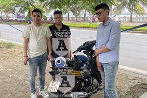 Chưa dứt 'cơn bay', nhóm thanh niên đã bị Cảnh sát 141 bắt giữ