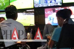 Video điều tra: Cá độ bóng đá núp bóng quán cà phê ở TP.HCM