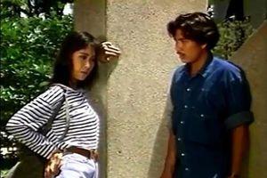 Cảnh phim có Hồng Vân và Lê Tuấn Anh gần 30 năm trước