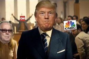 Video chế TT Trump xả súng nhà thờ, đâm chém báo chí bị chỉ trích