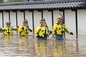 Nhật Bản huy động 110.000 nhân viên cứu hộ sau siêu bão Hagibis