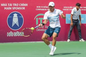 Daniel Nguyễn giành 'cú đúp' vô địch giải quần vợt quốc tế ở Tây Ninh