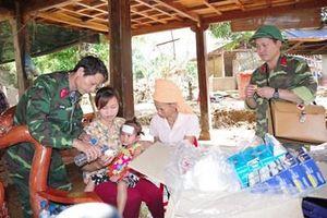 Công tác dân vận là chức năng, nhiệm vụ và cũng là trách nhiệm, tình cảm của quân đội với nhân dân (*)