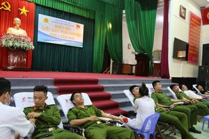 Tuổi trẻ CATP Đà Nẵng hiến hơn 100 đơn vị máu