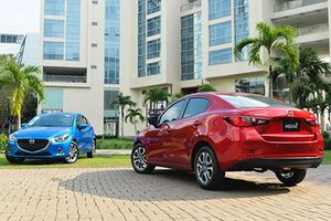 Xe ôtô Mazda2 giảm giá tới 70 triệu đồng tại Việt Nam