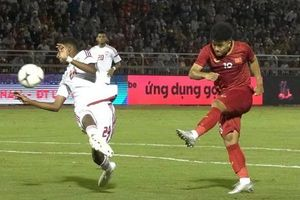 Đức Chinh ghi bàn, U22 Việt Nam bất phân thắng bại trước U22 UAE