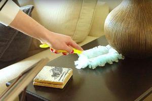 Muốn nhà không vương chút bụi bẩn bạn chỉ cần làm 5 điều này